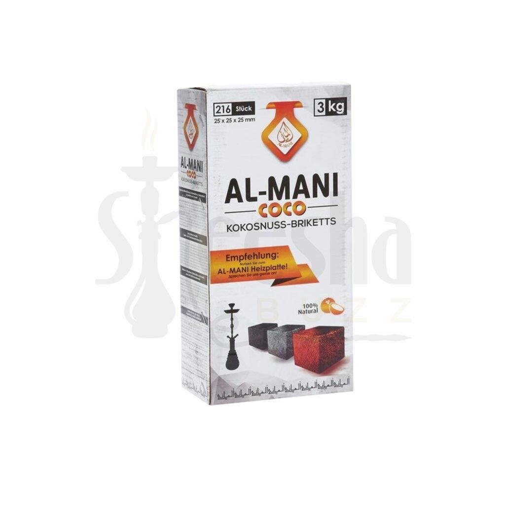 Buy Al-Mani Charcoal 3Kg
