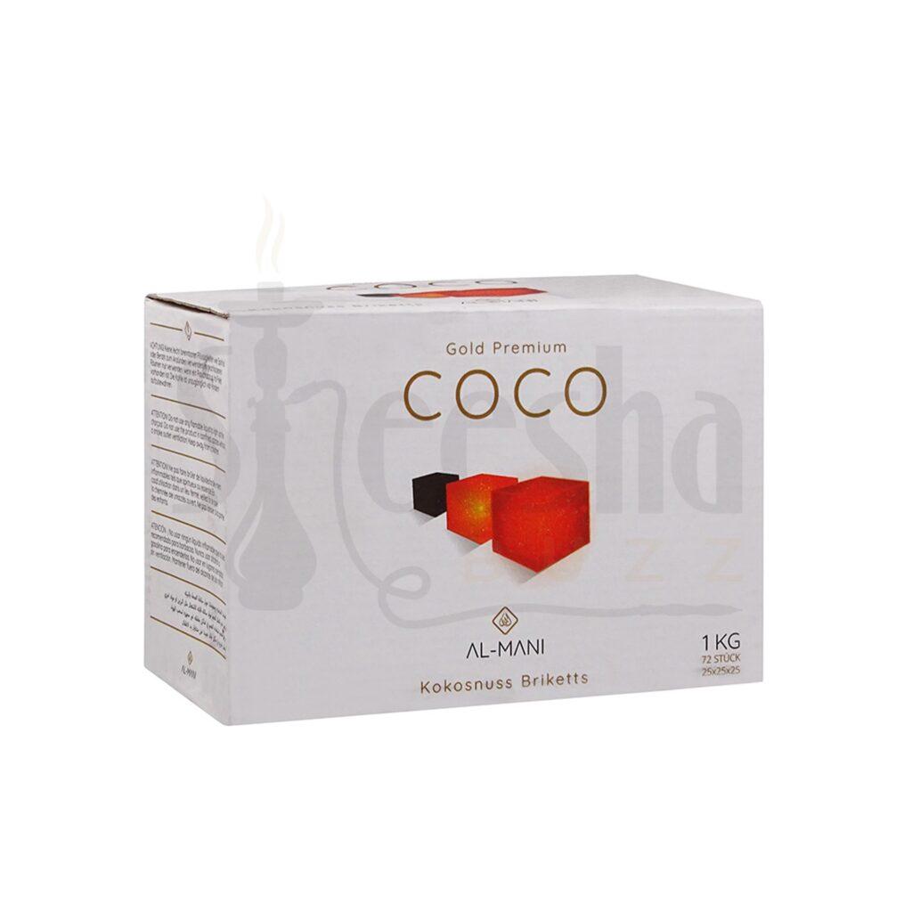 Buy Al-Mani Coco Charcoal 25mm 1 Kg