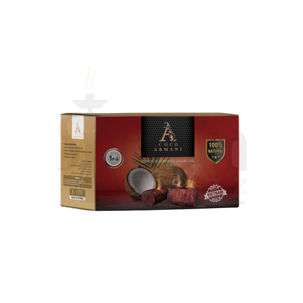 Buy Coco Armani Premium Charcoal Round 1kg