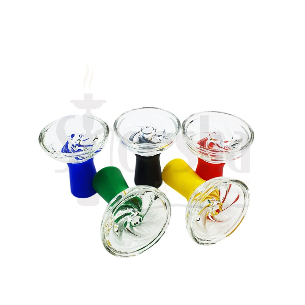 Buy Glass Shisha Head - Assorted Colours