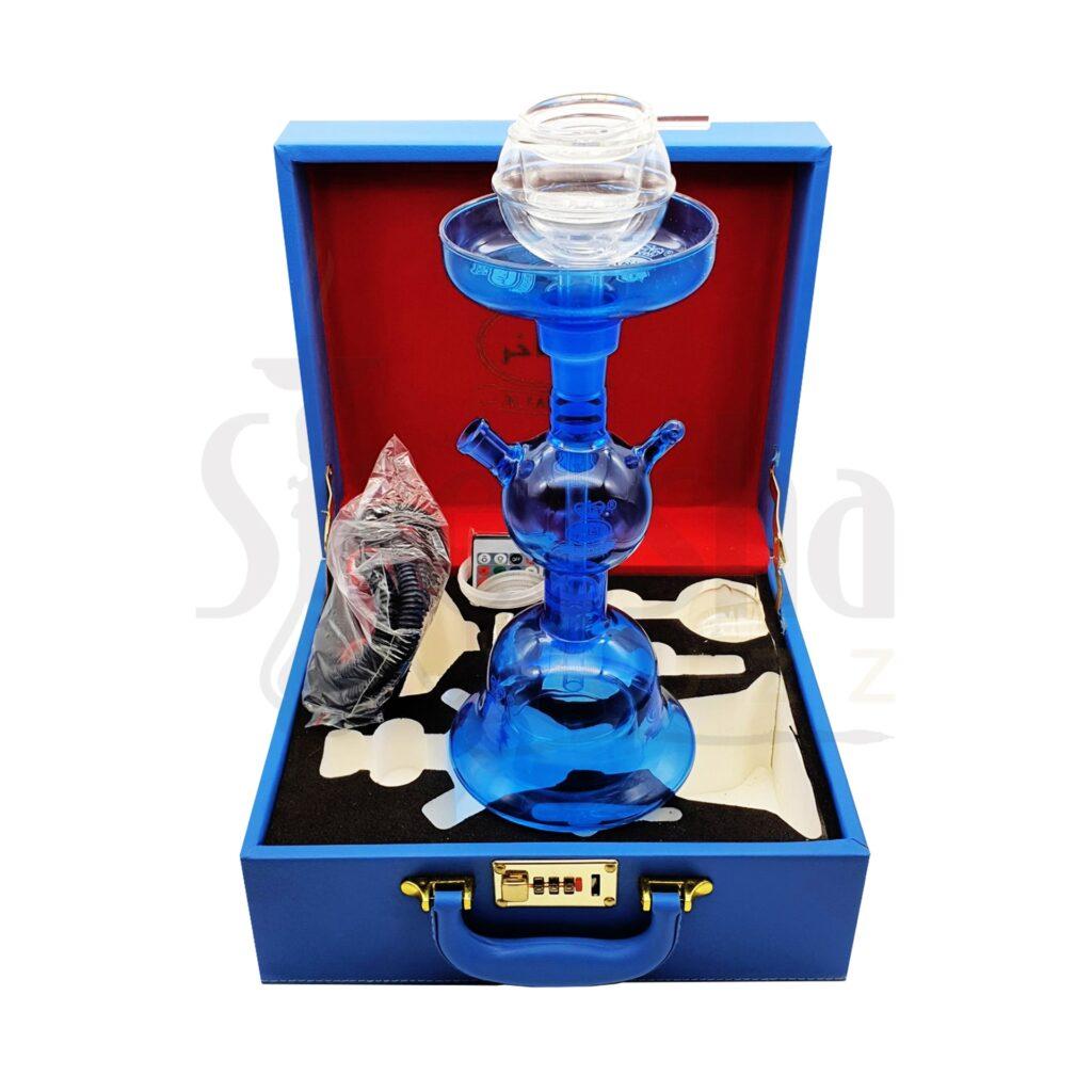 Buy Al Fakher LED Glass Shisha with Case