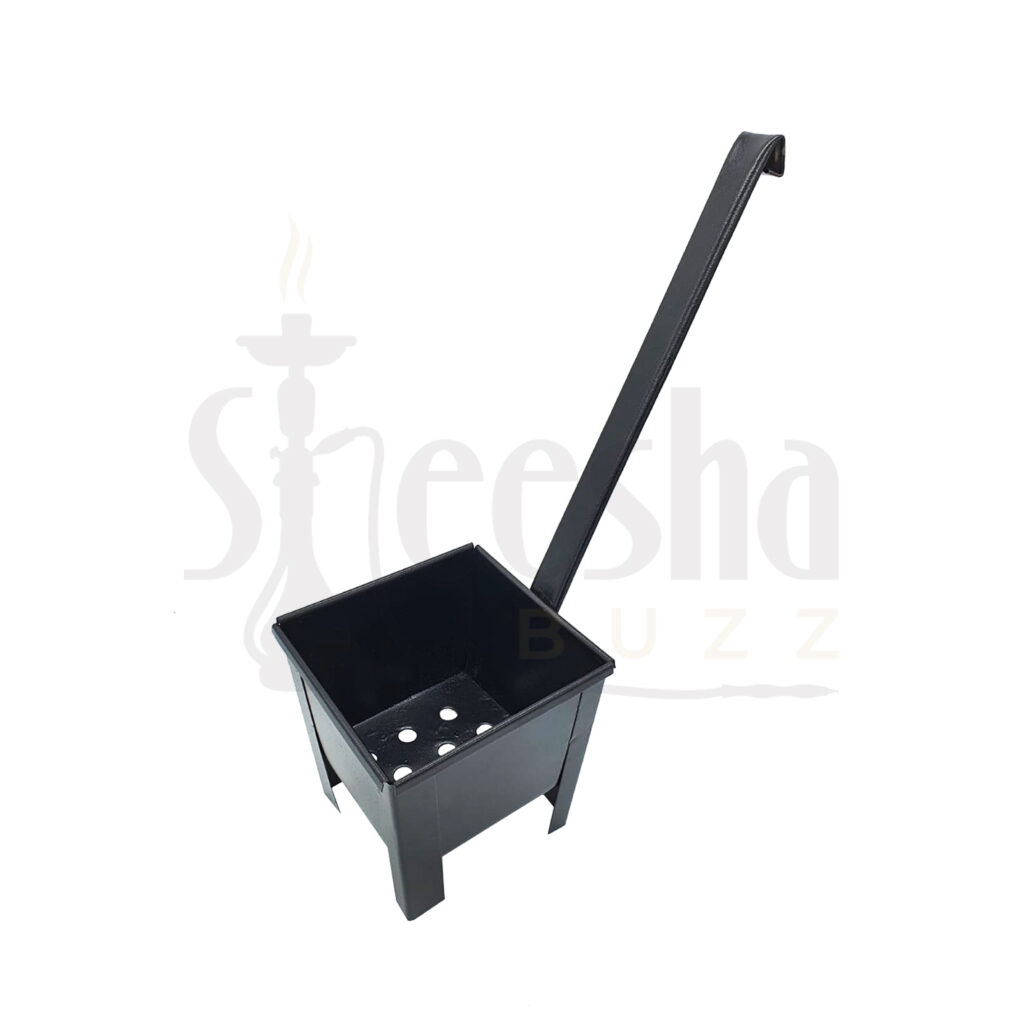 Buy Charcoal Holder Horizontal Black